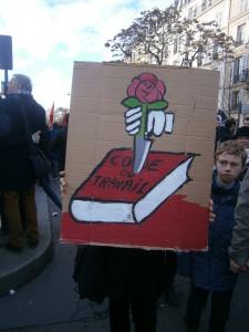 Manifestation contre la réforme de la « loi travail »