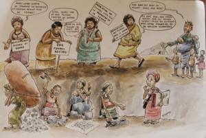 La violencia doméstica que esconde el millonario negocio del oro en RD-Congo