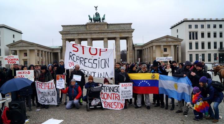 Schluss mit der Repression in Argentinien