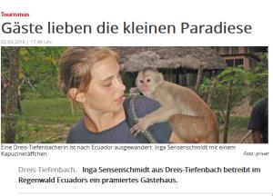 Ecoturismo ecuatoriano se promociona en Alemania