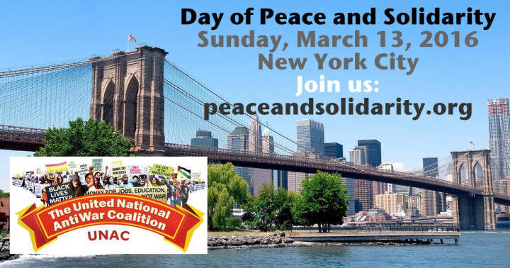 Everybody Turn Out for a Day of Peace and Solidarity in New York