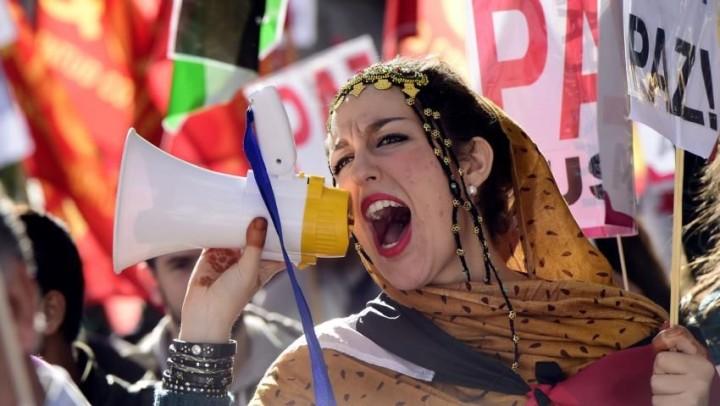 I rifugiati saharawi reclamano la fine dell'occupazione