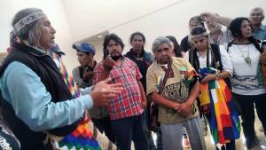 Líderes indígenas ocupan el INAI