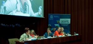 Se realizó en Quito el conversatorio Mujer, Ciencia y Conocimiento