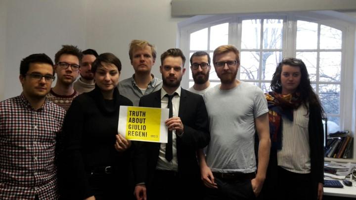Solidarietà per Giulio Regeni dall'università inglese di Sheffield