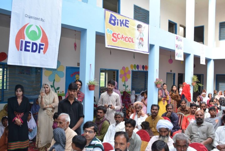 Bikes to enhance high school education for girls in Lahore