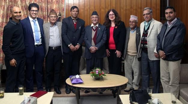 Laureates gather to 'Make Nepal Green'