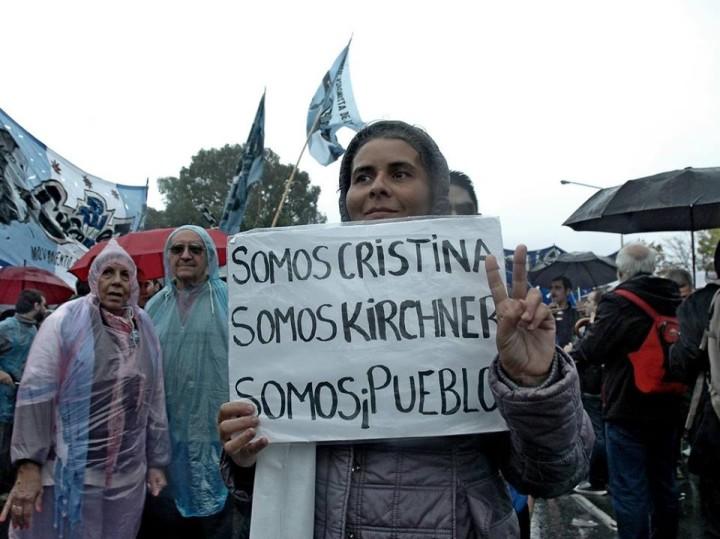 Argentina: Multitudinario respaldo a Cristina Kirchner en su reaparición pública