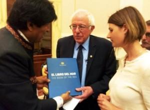 Morales desea suerte a socialista Sanders que quiere ser presidente de EE.UU.