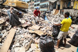 Ecuadorian students in UK raise funds for earthquake survivors