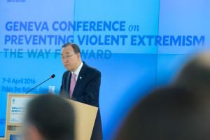 Ban Ki-moon: El extremismo no tiene su origen en ninguna religión o grupo étnico