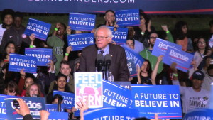 "Bernie Sanders: ""The struggle continues"""