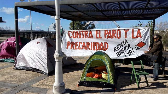 Campamentos Dignidad acampan indefinidamente frente a la Casa del Presidente en Mérida