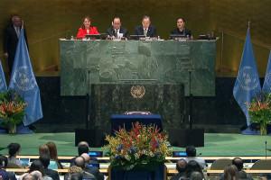 Cambio climático: participación récord de países en la ceremonia de la firma del Acuerdo de París en la sede de la ONU