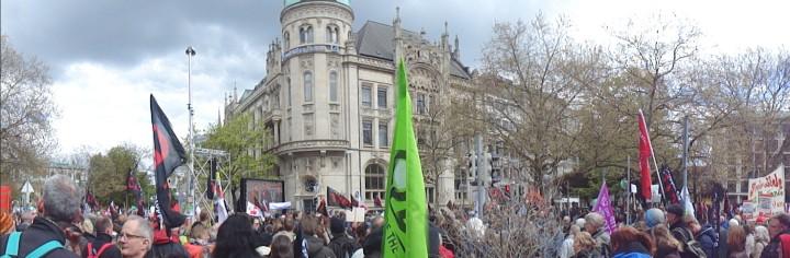 Demonstration gegen TTIP am Samstag in Hannover