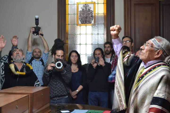 Restitución de restos selk'nam en el Museo de La Plata