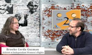 Brooke Cerda Guzman on Face 2 Face