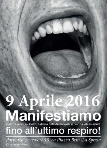 """La Spezia: il 9 aprile in piazza per dire """"NO ai veleni"""""""