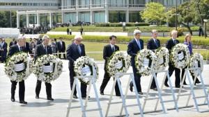 Potencias nucleares, encabezadas por EEUU, homenajean a víctimas de Hiroshima