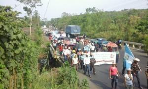 Guatemala : Marche pour l'eau rendue invisible par les médias