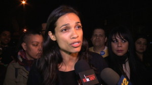 """""""It's a Revolution"""": Actress Rosario Dawson on Why She Supports Sanders for President Over Clinton"""