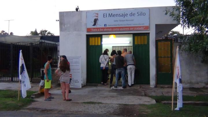Video: En Rosario se inauguró la salita «Quique Moncada» de El Mensaje de Silo