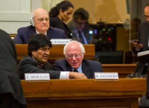 Sanders in Vaticano: economia per il bene comune