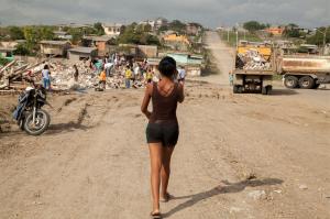 Pedernales: una delle città più devastate dal terremoto in Ecuador
