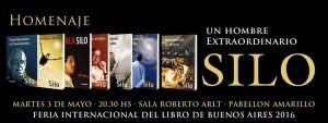 Homenaje a Silo en la Feria Internacional del Libro de Buenos Aires 2016