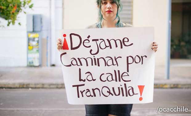 Chile pionero en la lucha contra el acoso sexual callejero