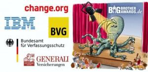 BigBrother Award geht an die BVG und an Change.org