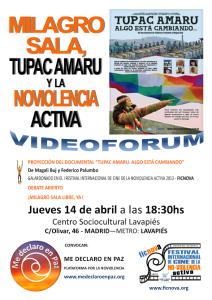 Milagro Sala, Tupac Amaru e la nonviolenza attiva