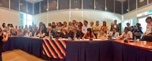 Dirigentes políticos, sociales, gremiales y académicos presentaron en el Congreso Nacional el Comité por la Libertad de Milagro Sala