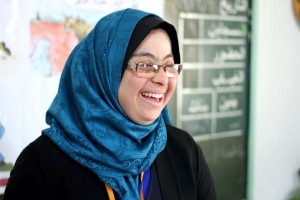 Eine Lehrerin in Gaza fordert die Stigmatisierung des Down-Syndroms heraus