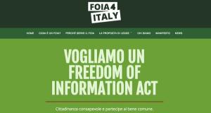 FOIA, cambiare il testo per assicurare diritti e trasparenza