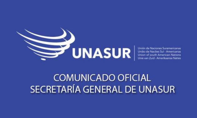 Secretaría General de UNASUR: Comunicado oficial sobre el proceso de destitución de la Presidenta Dilma Rousseff