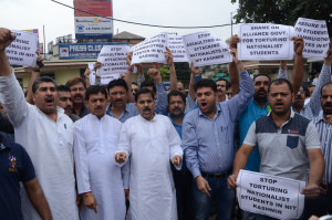 Jammu & Kashmir: Jammu students garner support for non-local students