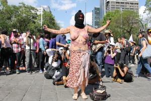 Primavera Violeta, La mayor manifestación contra las violencias machistas en México