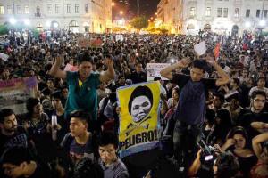 """""""Nunca Más"""": colectivos sociales en Perú,  marchan contra Keiko Fujimori"""