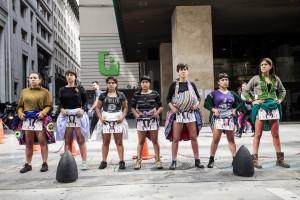 Memoria del autogolpe de Fujimori en las calles de Buenos Aires