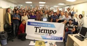 Nace la cooperativa de los trabajadores de Tiempo Argentino