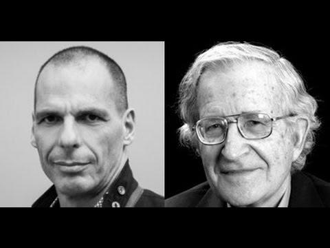 Βαρουφάκης και Τσόμσκι συζητούν για την επίθεση του νεοφιλελευθερισμού