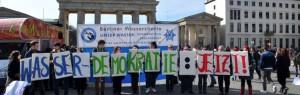 Berliner Wassertisch feierte 10. Geburtstag mit dem Startschuss für ein neues Volksbegehren