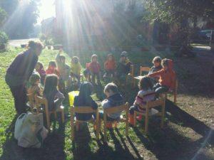 L'Asilo nel Bosco: crescere felicemente nella natura