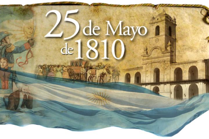A la Revolución de Mayo se entra por España