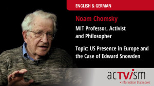 Noam Chomsky on US Military Presence in Europe & the Case of Edward Snowden