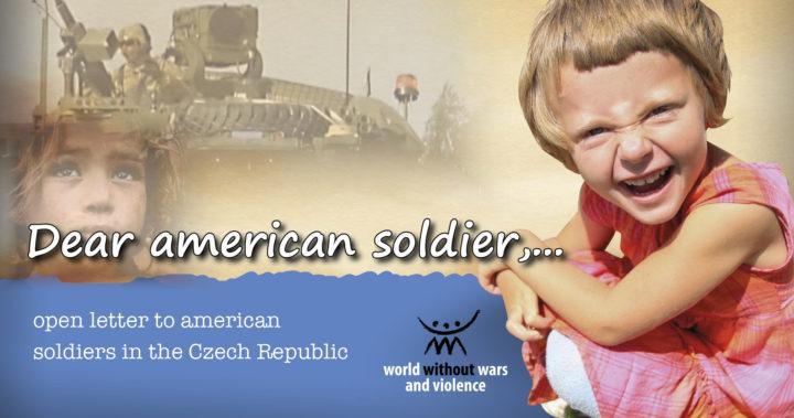 Ανοιχτή επιστολή προς τον Αμερικανό στρατιώτη από την Τσεχία