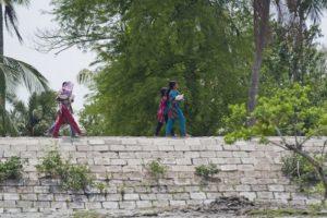 Bangladesh construye muros contra el cambio climático