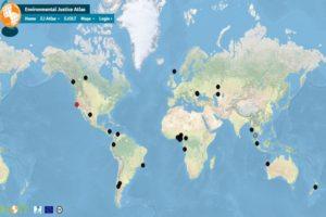 Carte mondiale des conflits de Chevron
