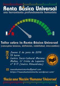 Taller sobre Renta Básica en Madrid